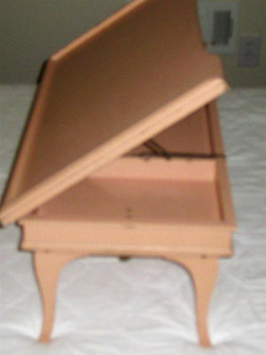 Vintage 1930-40 Pink Folding Wooden Bed Tray For Reading/eating/display