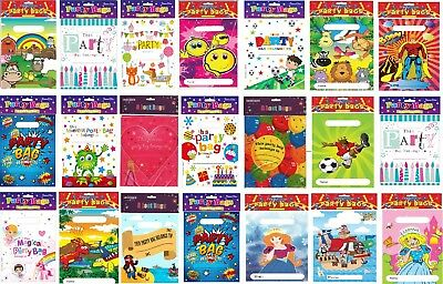 20 Childrens Party Loot Bags Party Favour Bags Unisex
