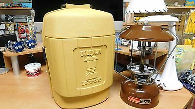 Vintage Coleman Lantern Model 275  dated  11-76 with Case Very Nice