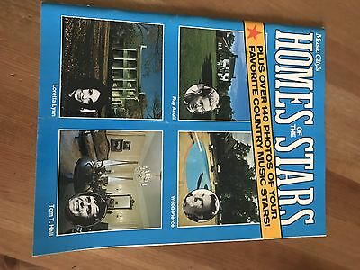 Music City's Homes Of The Stars Copyright 1975...