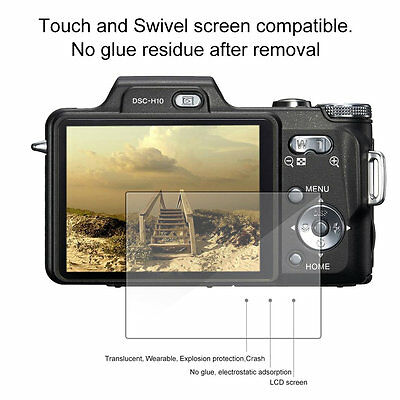 77 Types LCD Screen Protective Tempered Glass For Canon Panasonic SONY Camera M#