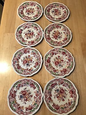 Set of 8 Vintage Johnson Brothers DORCHESTER Bread Butter Plates Plate