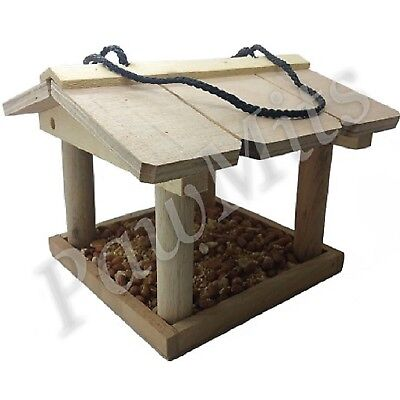 HANGING BIRD TABLE - Feeding Station Wild Feed Scrap Seed Nuts Feeder kf PawMits