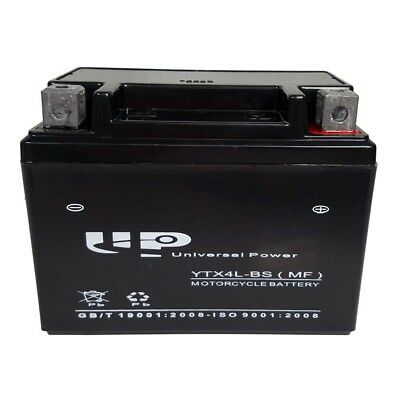 ATV / Scooter / Motorcycle Battery - YTX4L-BS (12 volt, 3 amp)