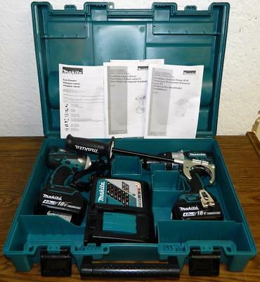 Makita XT252MB 18V LXT Lithium‑Ion Brushless Cordless 2‑Pc. Combo Kit FREE SHIP