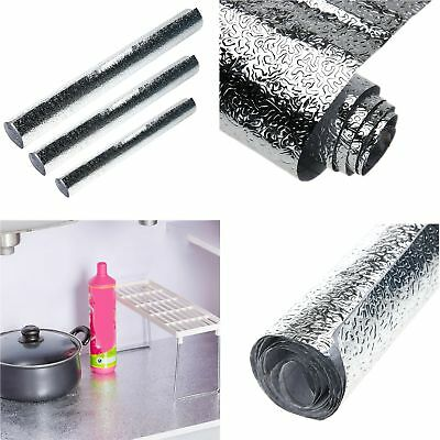 Thick Waterproof Anti-oil Aluminum Foil Self-adhesive Stickers Wall Paper Tool