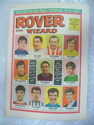 Comic- Rover and Wizard 7th December 1968