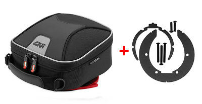 Givi Tanklock Combo Kit - XS319 XStream Mini Tank Bag & BF02 Tank Ring Mount