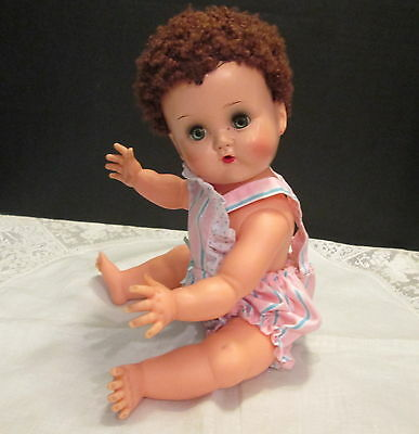Ideal 1950's Betsy Wetsy Doll with Caracul wig