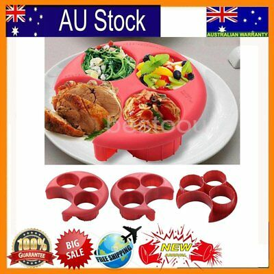 Meal Measure Portion Control Cooking Tools with Kitchen Food Plate Lose M#