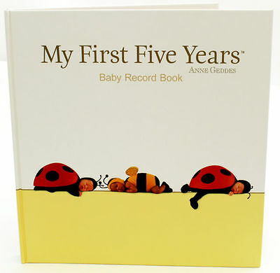 Anne Geddes - My First Five Years - Baby Record Book - Brand New