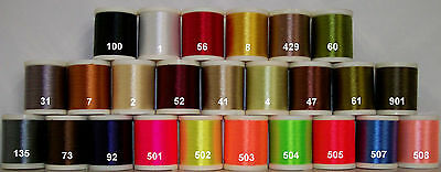 Danville's, FlyMaster Plus Thread, Size A, Waxed, 100 yards, Various Colors