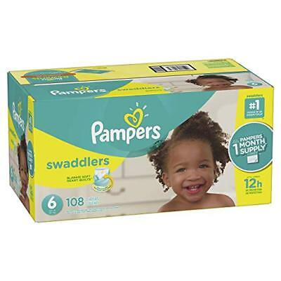 ***NEW*** Pampers Swaddlers Diapers Size 6, 100 Count ***FREE SHIPPING***