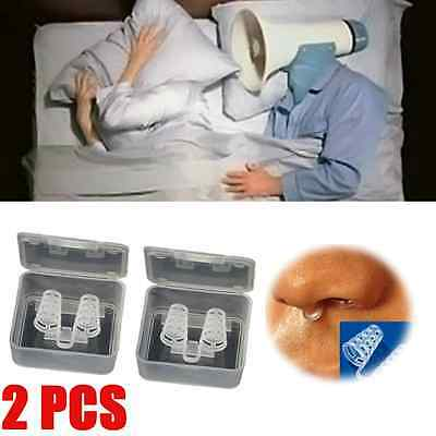 Stop Snoring Cones Breathe Easy Congestion Aid Anti Snore Nasal Dilator X#