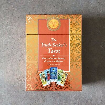 The Truth-Seeker's Tarot Guide Book & Cards Kit by David Fontana - NEW SEALED