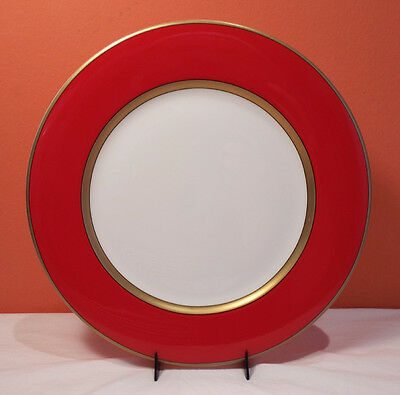 """Fitz and Floyd HOLIDAY PINE RED 12"""" Service Plate Charger 10 Available EXCELLNT"""