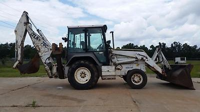Fermec Tlk760 Backhoe With Full Cab - Low Hours - Finance Available...!!!