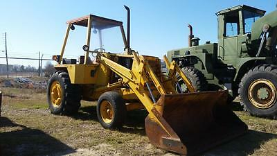 Case 480F 2Wd Industrial Loader W/open Cab - Low Hours - Finance Available...!!!