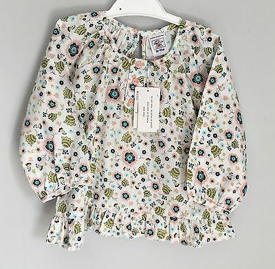 Baby Charlie & Me Floral Baby Tunic Top Blouse BNWT Size 12-18 Months