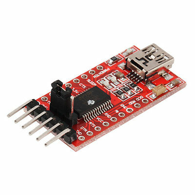 FTDI FT232RL USB to TTL Serial Converter Adapter Module 5V and 3.3V hot M#