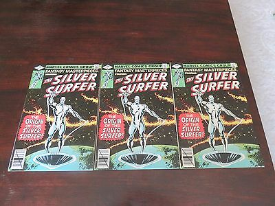 Fantasy Masterpieces #1 Vol 2 Silver Surfer #1 Reprint (1979, Marvel) VF