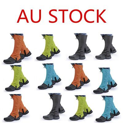 1 Pair OUTAD Waterproof Outdoor Hiking Climbing Hunting Snow Legging Gaiters M#