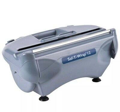 """San Jamar SW12 SAF-T-WRAP 12"""" Film and Foil Wrapping Station"""