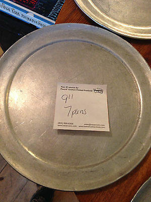 "9"" Pizza Pans - Lot of 7"