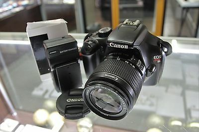Canon EOS Rebel T3 / EOS 1100D 12.2MP Digital SLR Camera - (w/ EF-S IS 18-55mm)