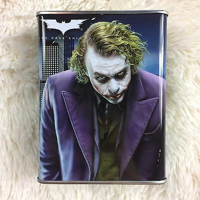 DC Comics Tin Coin Bank Batman And Joker Heath Ledger The Dark Knight NECA