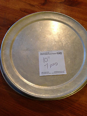 "10"" Pizza Pans - Lot of 7"