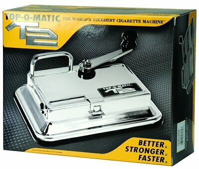 T2 Top-O-Matic Cigarette Rolling Machine - New - Free Fast Shipping