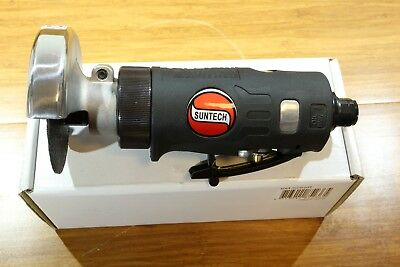 "Suntech 0.5 HP Reversible Pneumatic Air 3"" Metal Cut Off Tool Comfort Grip"