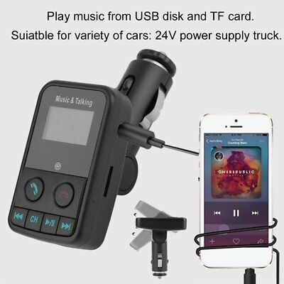 SO-600E Portable Car Wireless Bluetooth MP3 Player FM Transmitter Car Charger M#