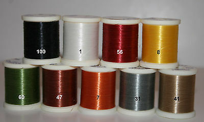 Danville's, Monocord, Non-Waxed, 3/0, 100 yards, Various Colors