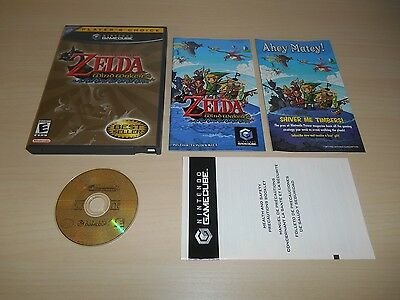 The Legend of Zelda The Wind Waker Complete Nintendo GameCube CIB