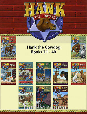 Hank the Cowdog The Case of the Vanishing Fishhook 31-40 by John R. Erickson