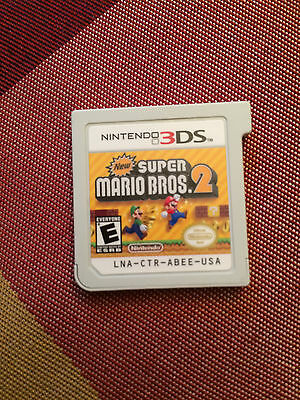 New Super Mario Bros 2 - Nintendo 3DS - Cartridge Only - Great Condition!