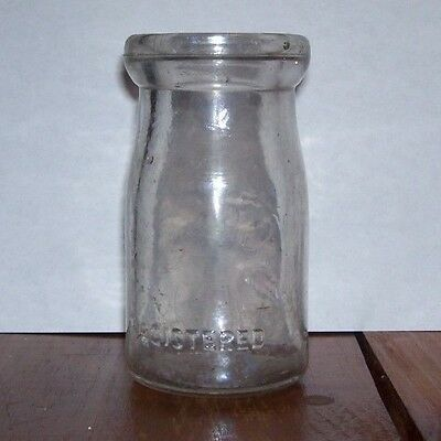 Vintage Gill 1/4 pint CITY DAIRY milk bottle Baltimore MD