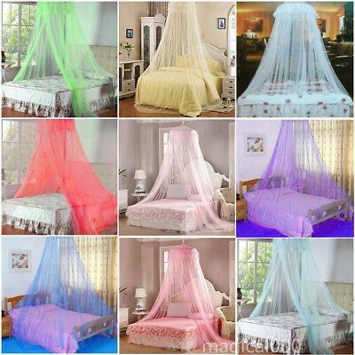 Bedroom Home Bed Canopy Mosquito Netting Curtain Midges Insect Mesh Bedding Net