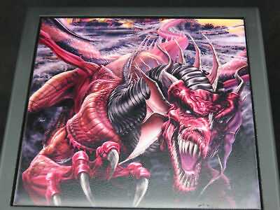 DRAGONS NIGHT LARGE TRINKET JEWELLERY BOX 17.5x17.5cm by Tom Wood GOTHIC FANTASY