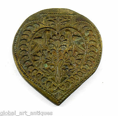 Vintage Very Beautiful Designs Bronze Jewellery Making Dye/Seal/Stamp. G46-160