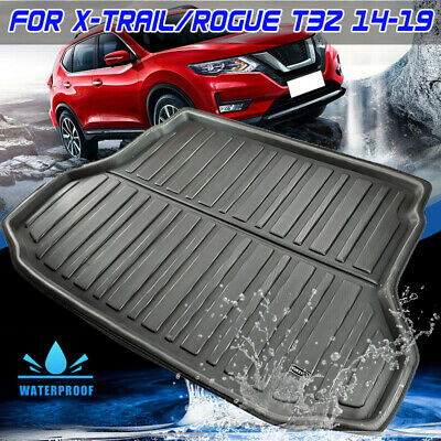 Rear Trunk Boot Liner Cargo Mat Floor Tray For Nissan X-Trail XTrail 2014-2019