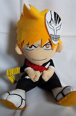 BLEACH Ichigo Kurosaki Hollow Mask Anime Manga Plush Plushie Toy 12 Inches