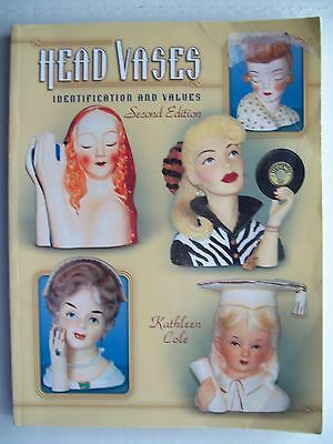 Vintage Head Vases Price Value Guide Collector's Book LAST COPY PRINTED Headvase
