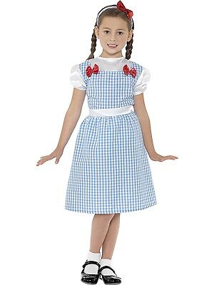 Country Girl Wizard Of Oz Dorothy Costume Book Week Kids Girl Fancy Dress