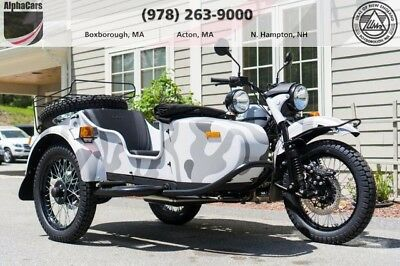 2017 Ural Gear Up 2WD Urban Camouflage Custom  Updated Model Loaded 2WD Reverse Gear Brembo Brakes Financing & Trades