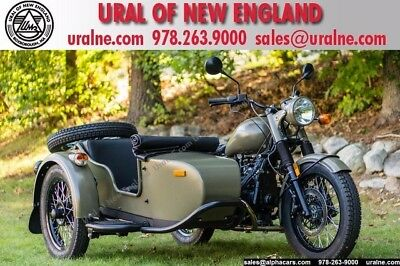 2016 Ural M70 Military Green Custom  Brembro Brakes Reverse Gear Custom Color Financing & Trades