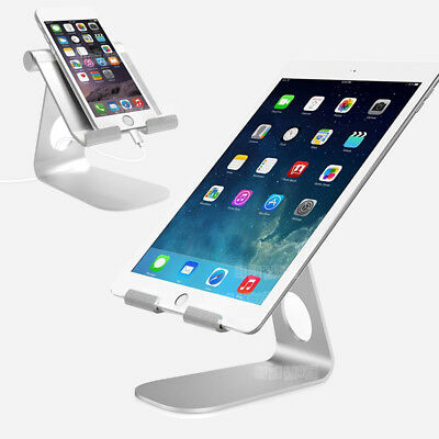 Universal Aluminum Tablet Phone Holder Stand Mount For iPad iPhone Heavy Duty AU