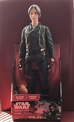 """Star Wars Rogue One Big Figs Jyn Erso Large Toy / Action Figure 18"""" (45cm) - New"""